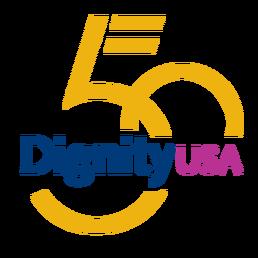 DignityUSA 50 Logo