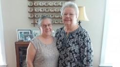 Kathy and Maria