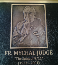 Fr Mychal Judge Plaque