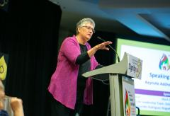 Mary E. Hunt delivers opening Keynote at DignityUSA 50th Anniversary conference July 2019